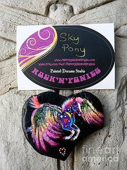 Rock'N'Ponies - SKY PONY by Louise Green