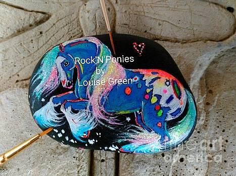Rock'N'Ponies - STORM DANCER COB by Louise Green