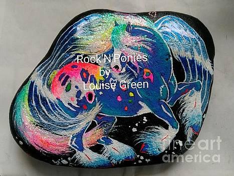 Rock'N'Ponies STORM DANCER PEGASUS by Louise Green