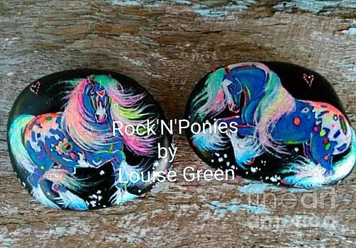Rock'N'Ponies STORM DANCER Ponies by Louise Green