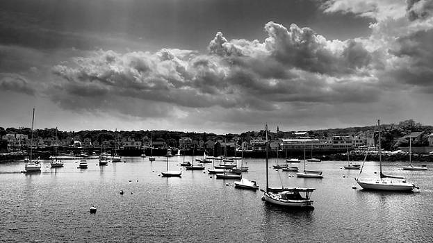 Rockport Harbor Monotone by Kevin Felts