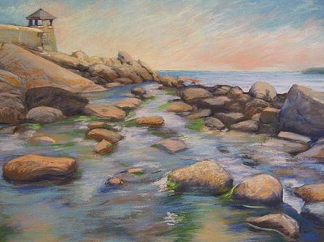 Rockport Harbour by Leslie Alfred McGrath