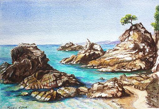 Yvonne Ayoub - Rocks at Kalamaki