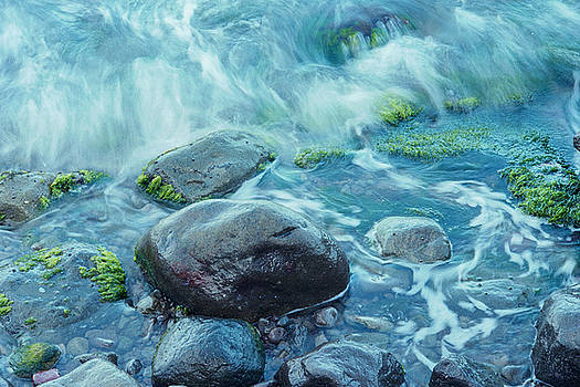 Rocks in Water by Richard Nickson