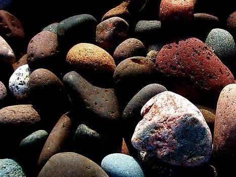 Rocks of Lake Superior by Bridget Johnson