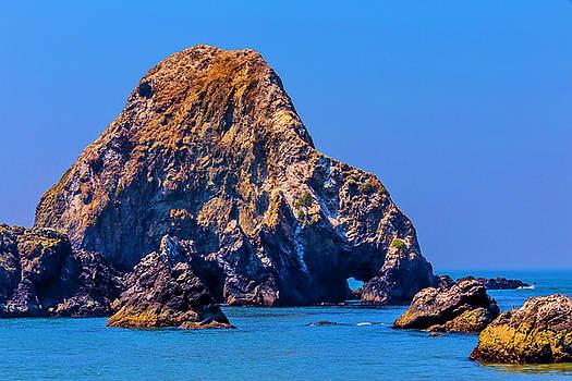 Rocks Off Sonoma Coast by Garry Gay