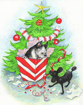 Rocky And Sheila's Christmas by Peggy Wilson