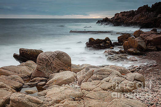 Rocky beach at Kullaberg by Sophie McAulay