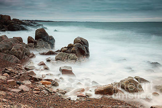 Rocky beach at Kullaberg Sweden by Sophie McAulay