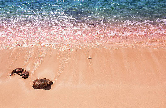 Rocky Beach by Daphne Sampson