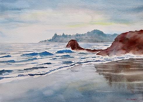 Rocky Beach by Geni Gorani