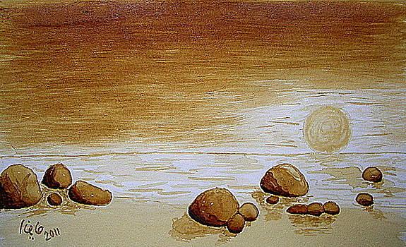 Rocky Beach by Maina  Kabiru