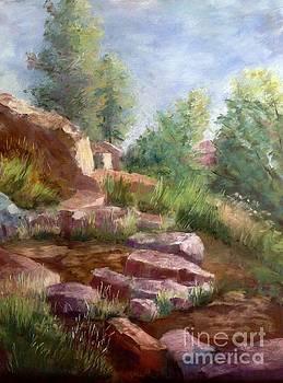 Rocky Climb by Rosemary Juskevich