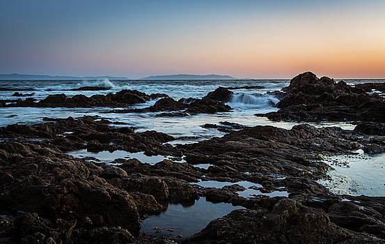 Rocky Coast by Ed Clark