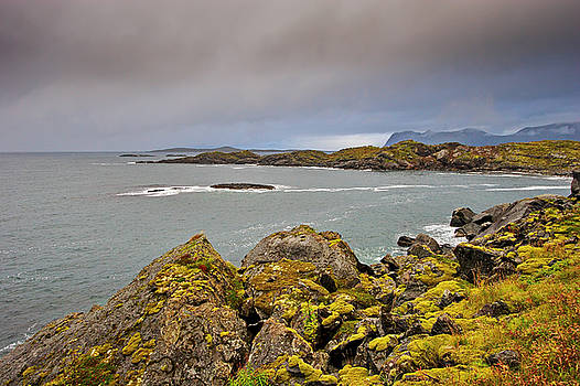 Rocky coast on island Senja by Intensivelight
