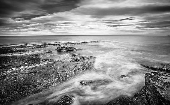 Rocky Coastline La Mata by Gary Gillette
