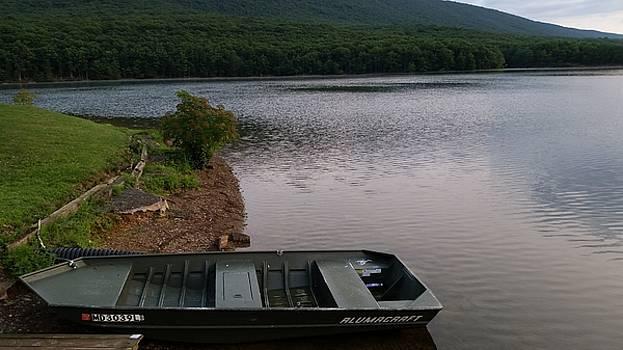 Rocky Gap Rowboat by Jennifer Fliegel
