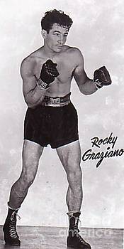 Rocky Graziano Boxer by Pd