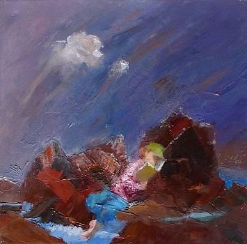 Rocky Landscape II by Irena  Jablonski
