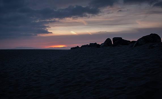 Rocky Layered Oxnard Sunset by Mythic Ink