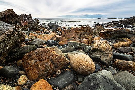 Rocky Maine Coast by Natalie Rotman Cote