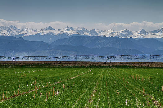 Rocky Mountain Farming View by James BO Insogna