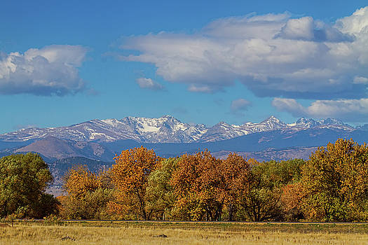Rocky Mountain Front Range Colorful View by James BO Insogna