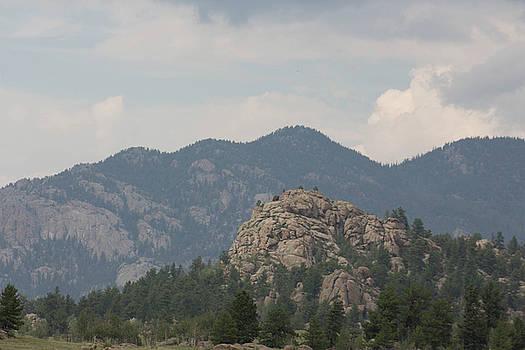 Rocky Mountain landscape by Jodi Vetter