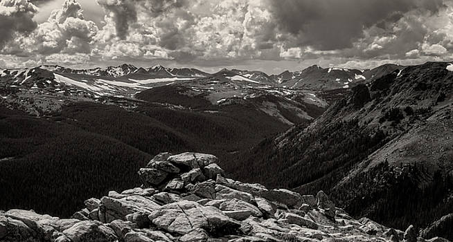 Rocky Mountain National Park Colorado by Ray Van Gundy
