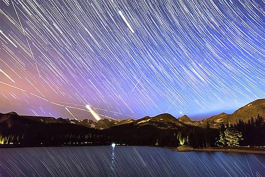 Rocky Mountain Purple Rain by James BO Insogna