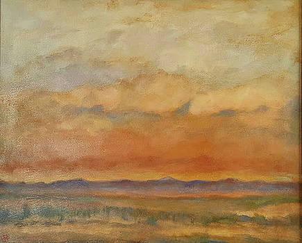 Rocky Mountain Sunset by Joe Leahy