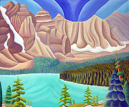 Rocky Mountain View 3 by Lynn Soehner