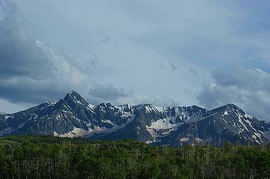 Rocky Mountains by Sherry Vance