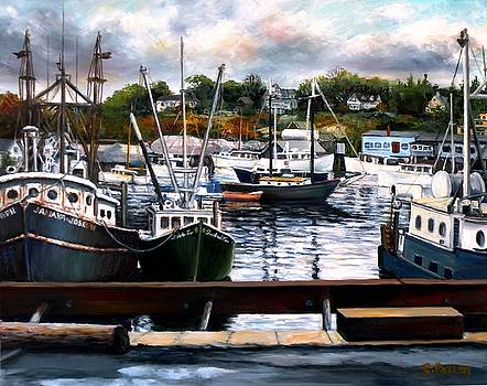 Rocky Neck, Gloucester by Eileen Patten Oliver