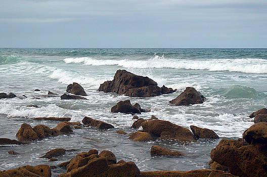 Rocky Ocean by Heidi Pence
