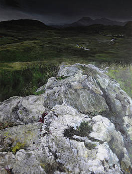 Rocky Outcrop by Harry Robertson