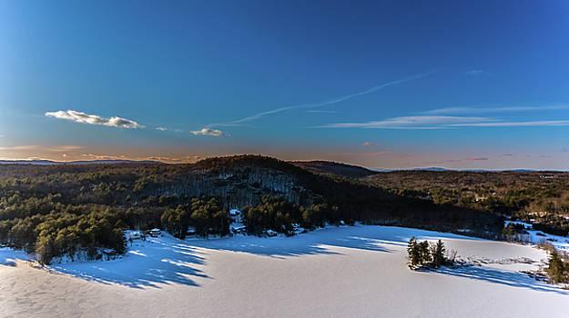 Rocky Pond - New Hampshire by Mim White