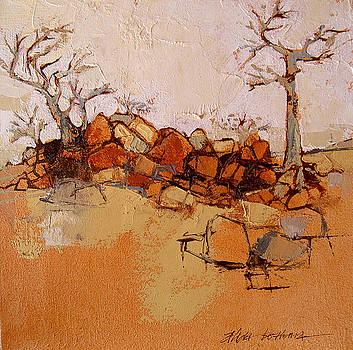 Rocky ridge by Alida Bothma