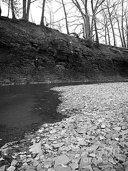 Rocky Riverbed by Phil Perkins