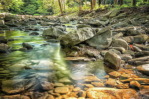 Rocky Serenity by Travis Rogers