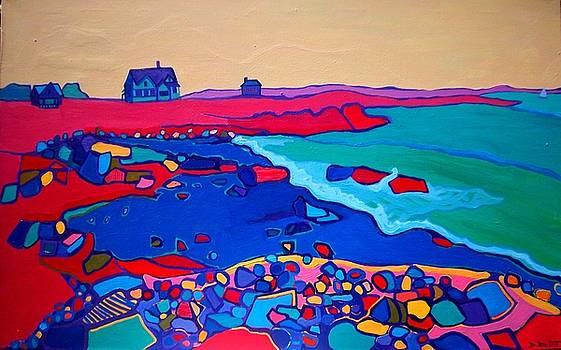 Rocky Shore by Debra Bretton Robinson