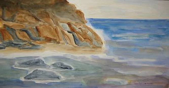 Rocky Shore by Joan Wallace Reeves