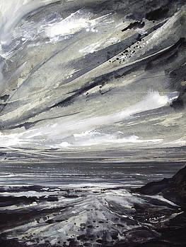 Rocky shore by Keran Sunaski Gilmore