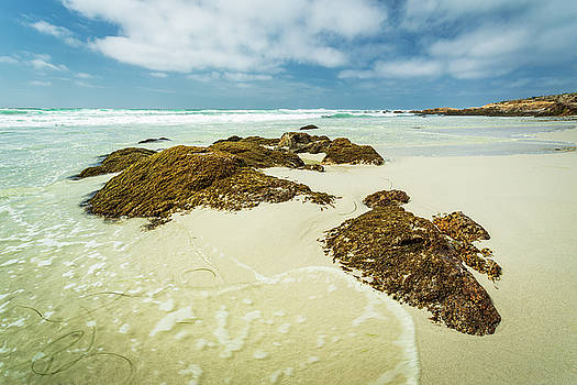 Rocky Shore by Rick Strobaugh