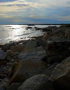 Mark Wiley - Rocky Shore Sunset