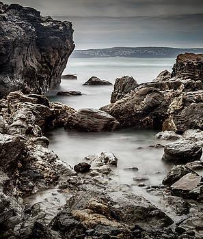 Rocky Shoreline by Nigel Jones