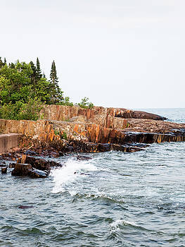 Rocky Shores by Whitney Leigh Carlson