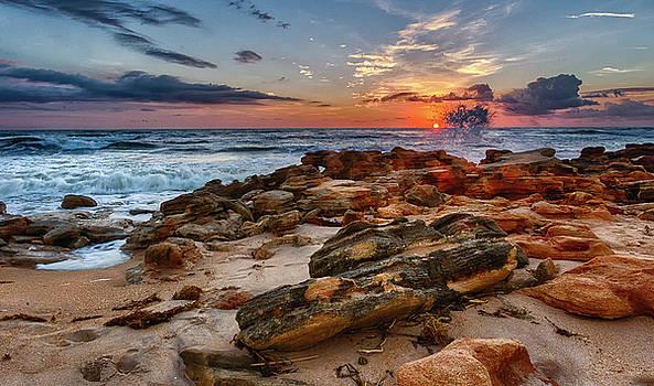 Rocky Sunrise by Dillon Kalkhurst