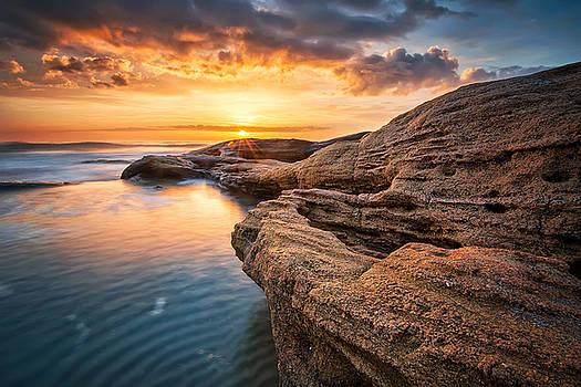 Rocky sunrise by Evgeni Ivanov