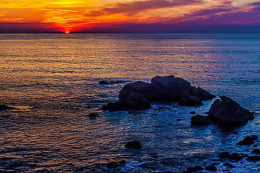 Rocky Sunset by Garry Gay